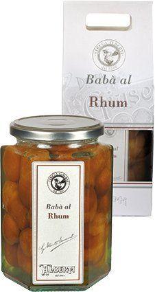 Strega Alberti Baba al Rhum 750g (3pack) Baba Rum Cakes from Italy