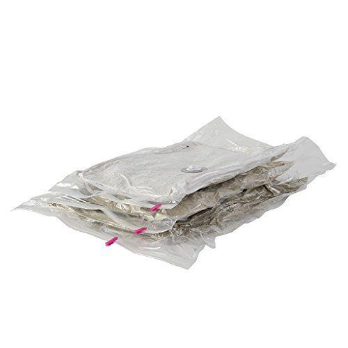 Compactor RAN4127 Lot de 3 Housses de Rangement Sous Vide: Price:12Lot de 3 sacs de rangement sous-vide en nylon et polyéthylene. Fermeture…