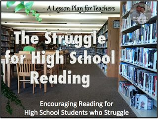 Encouraging Reading for High School Students who Struggle