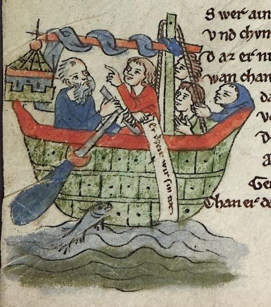 Cod. Pal. germ. 389 Thomasin <Circlaere>   Welscher Gast (A) — Bayern (Regensburg?), um 1256 Folio 49v