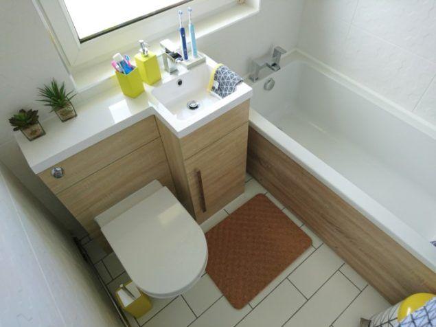 Best Small Bathroom Makeovers Ideas On Pinterest Bathroom - Beautiful small bathroom makeovers