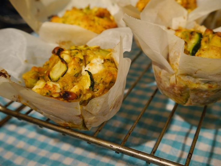 The Mocking Bird: Basically Healthy Courgette & Feta Muffins