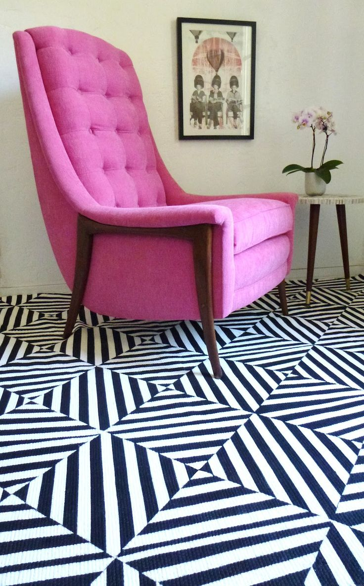 Not a fan of mid-century modern, but I love this chair.