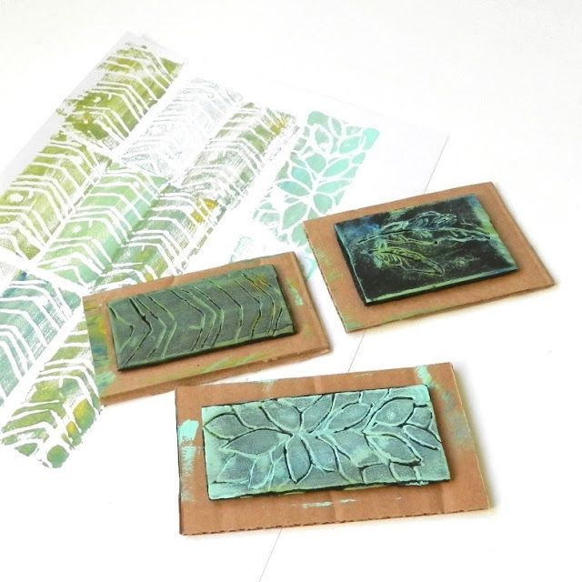 Printing With Recycled Styrofoam With Images Styrofoam Crafts Crafts Recycled Art
