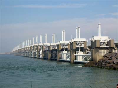 The Seven Mondern Wonders - The Zuiderzee and Delta Works