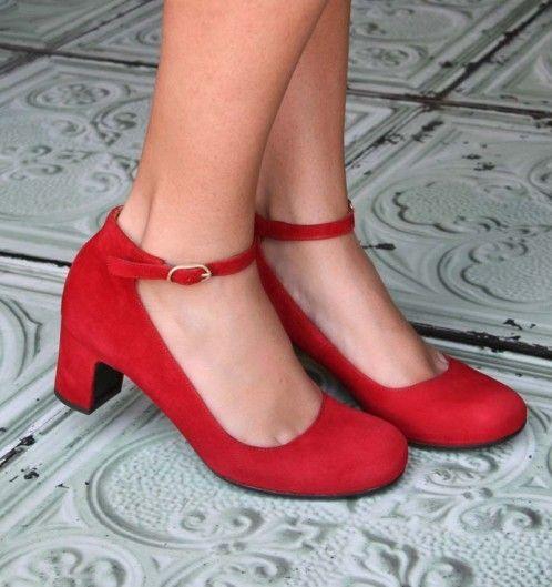 Chie Mihara - Naron Red shoes #womensfashion #heels #nattygal