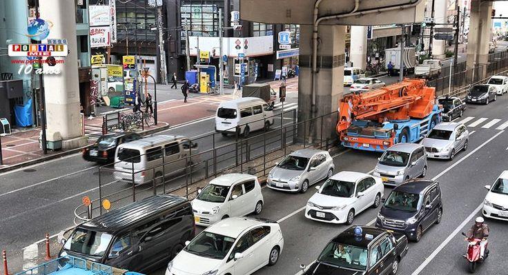 Japão planeja equipar 90% dos carros novos com freios automáticos