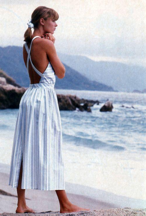 Eileen West, American Vogue, May 1987. Love Eileen West designs!