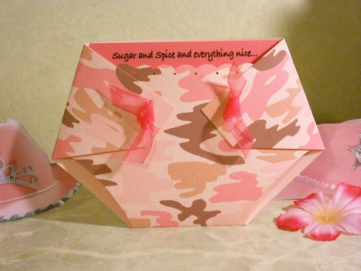 11 best k\'s baby shower images on Pinterest | Camo baby showers ...