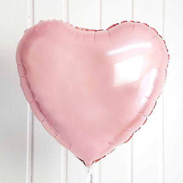 Was könnte besser zu einer Hochzeit passen als ein romantischer Ballon in Herzform?