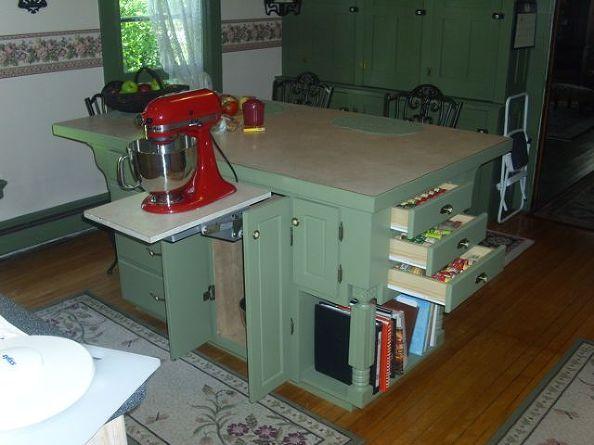 best 25 homemade kitchen island ideas only on pinterest homemade kitchen tables small kitchen islands and diy kitchen furniture - Kitchen Island Storage Ideas