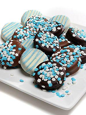 Golden Edibles Hanukkah-Themed Oreo Cookies