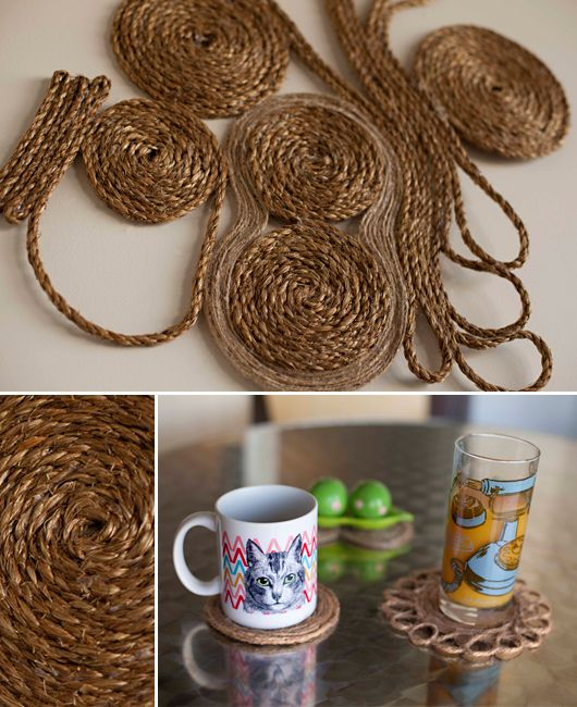 17 best images about rope on pinterest sculpture for Where to buy nautical rope for crafts