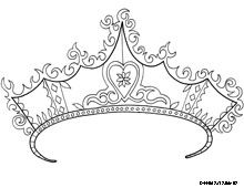 free printable princess coloring pages from doodle art alley
