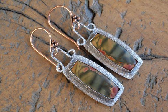 Handgemaakte 925 sterling en fijn zilveren oorbellen met