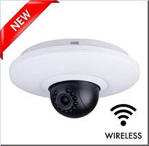 1080P Wireless IP CCTV Camera with audio -  2 Megapixel dome, IR Night Vision, Wide angle lens, 3 x zoom  www.cctvstoreuk.com