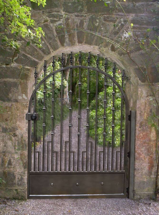 17 best images about iron gate designs on pinterest for Designs for garden gates