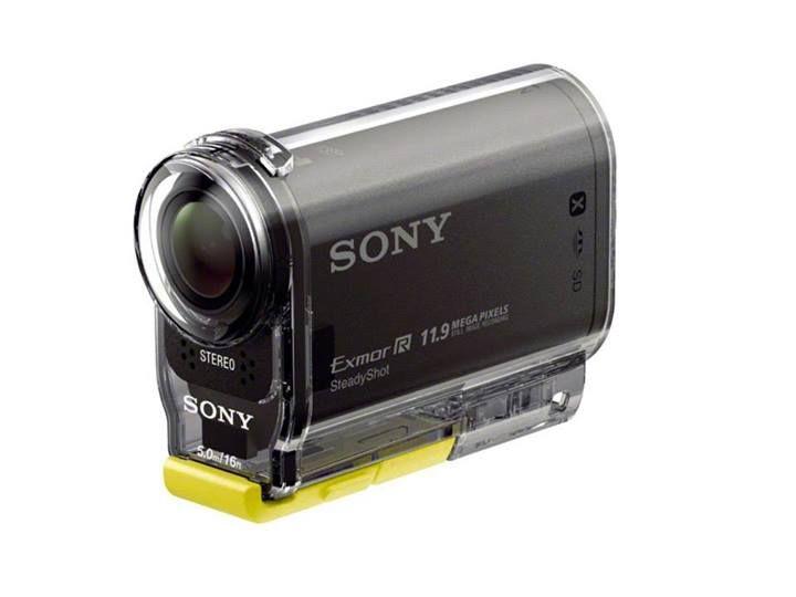 Kamera Action Cam - Kamera Full HD, obiektyw Carl Zeiss® Tessar, przetwornik CMOS Exmor R™, Wi-Fi® i NFC, SteadyShot, GPS