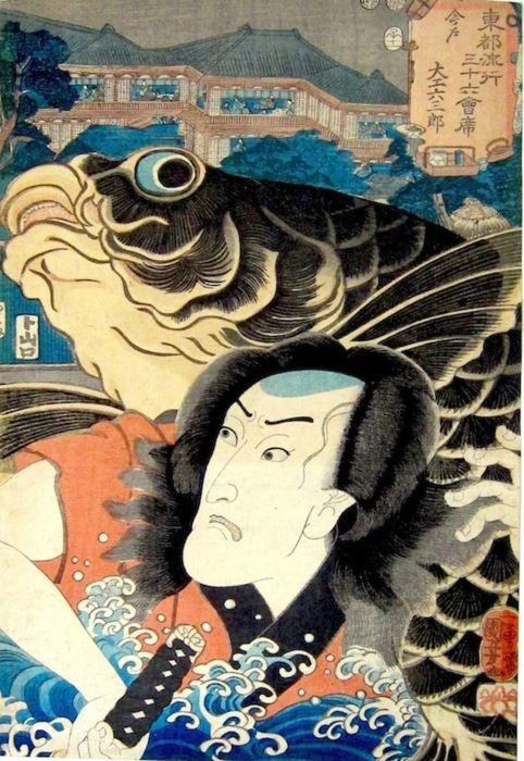 Utagawa Kuniyoshi, Japan