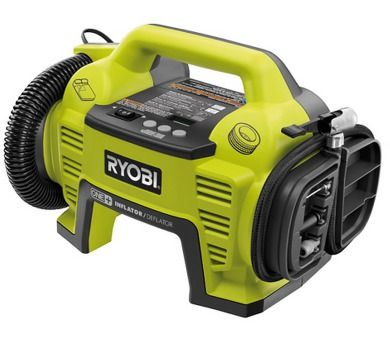 Aku kompresor Ryobi R18 I-O: ONLINESHOP.cz