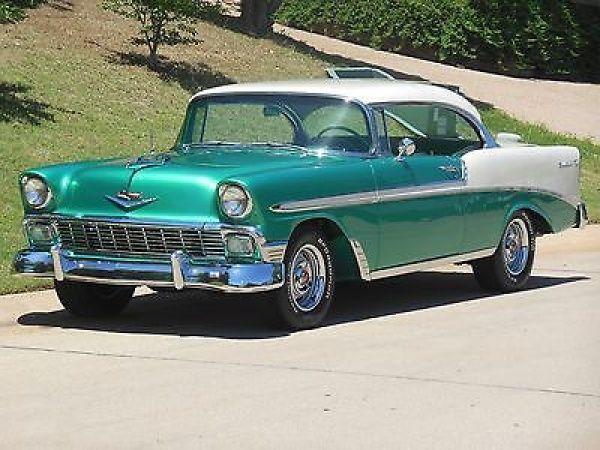 Chevrolet: Bel Air/150/210 Bel Air Two Door Hardtop 1956 chevy bel air 2 door hardtop frame off restomod listening to offers trades