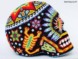 Bilderesultat for huichol skull
