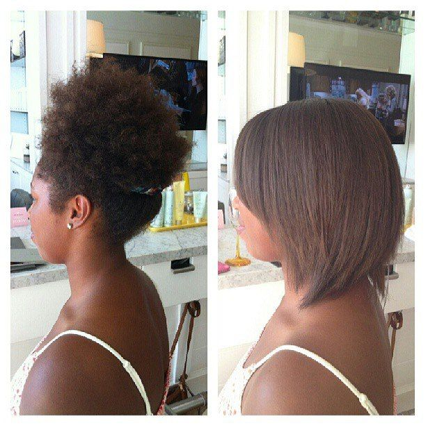 How to make natural hair stay straight, longer!