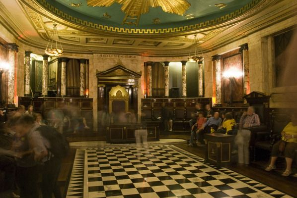 Masonic Lodge of the Andaz Hotel | Atlas Obscura