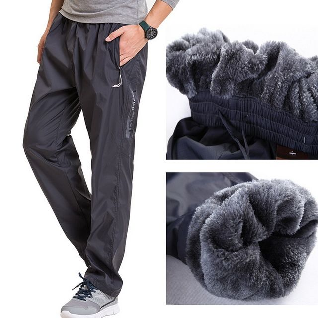 Check it on our site Grandwish Fleece Thick Pants Men Outside Winter Pants Men Fleece Warm Straight Mens Fleece Pants Heavyweight Zipper , PA785 just only $12.95 - 14.57 with free shipping worldwide  #pantsformen Plese click on picture to see our special price for you