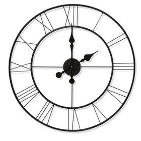 Large Metal Clock