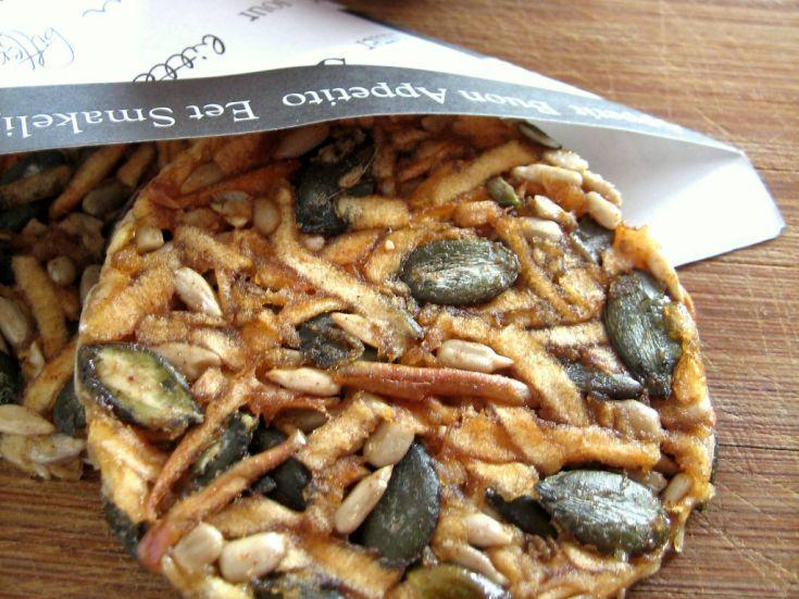 Sušené RAW jablkové krekry