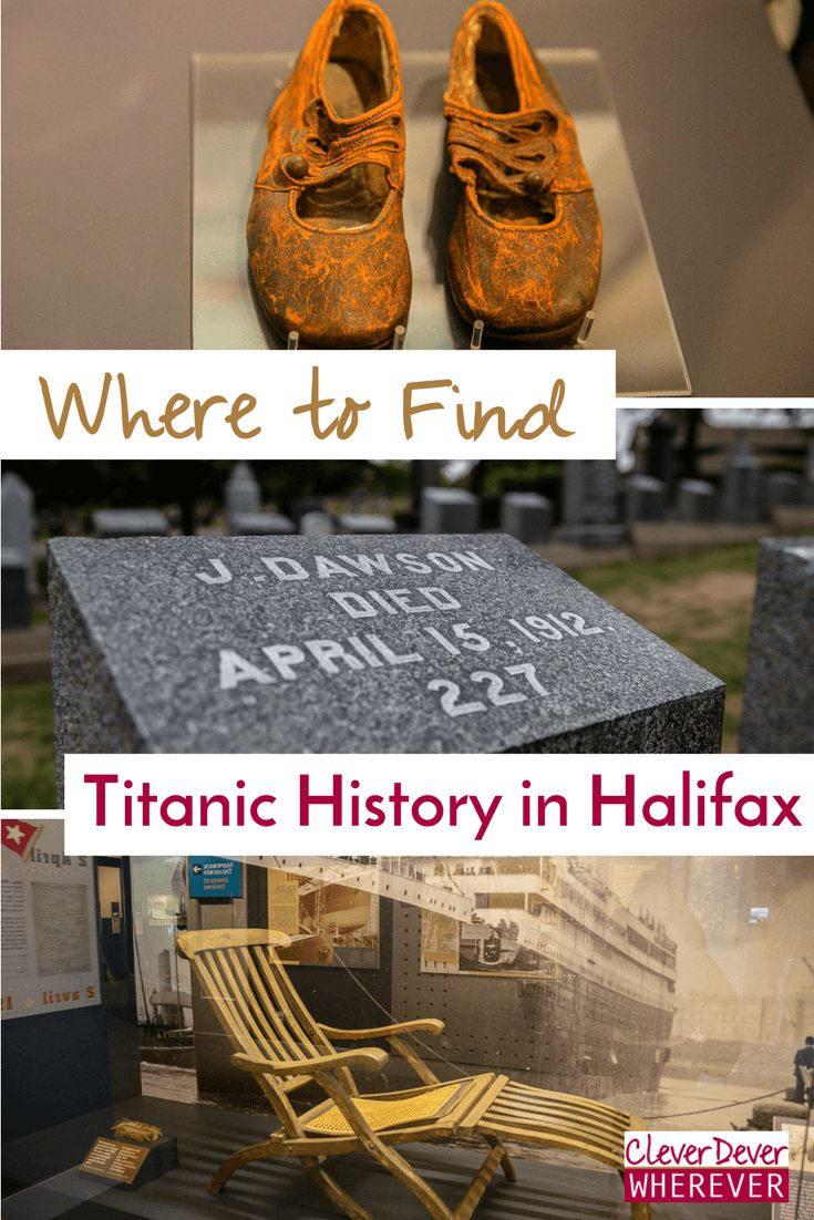 If you're a Titanic buff, you MUST visit Nova Scotia. Find out where to see Titanic history.