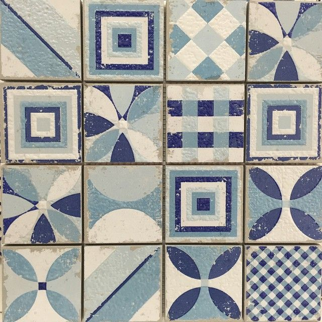 """""""Our Mikonos Collection is now in stock! Available in 3 gorgeous colours and suitable for wall or floor. #madeinitaly #bathrooms #kitchen #home #mosaics…"""""""