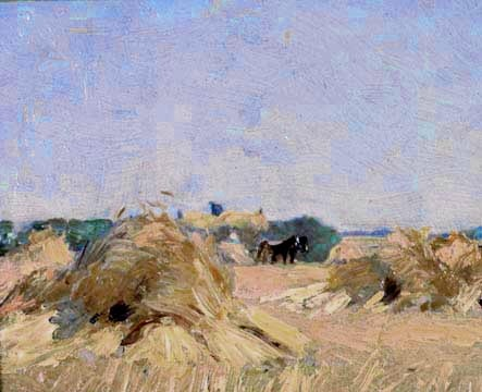 Harvesting at Thornhill, J E H MacDonald ... Group of Seven (org.) 1920