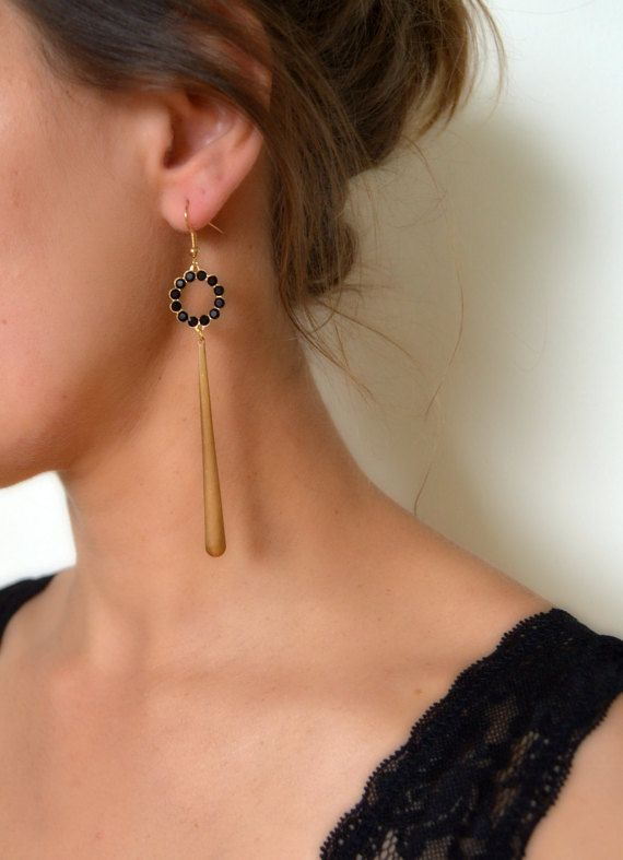 1920s gatsby vintage inspired earrings