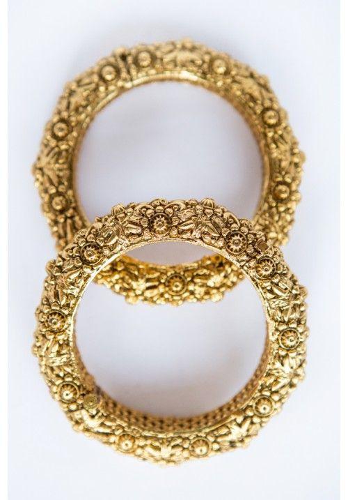 Antique Gold Kangans