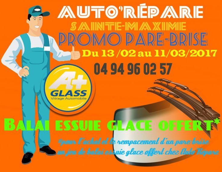 #promos #parebrise #balaiessuieglace #offert* chez votre #Garage @AutoRepar @GlassRepar à @Sainte_Maxime #Digital #Marketing #communication