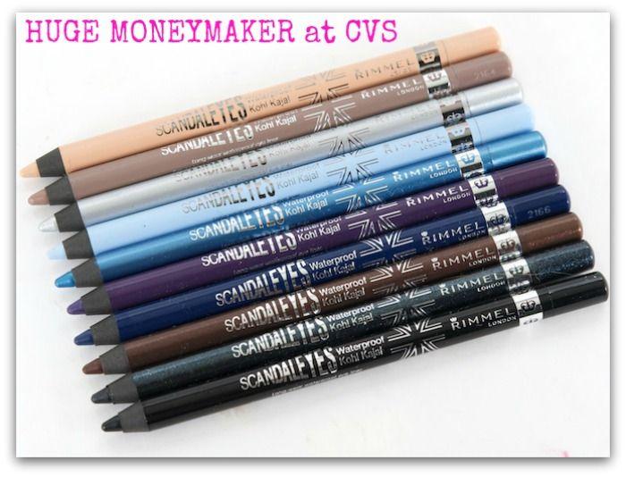 CVS - HUGE MONEYMAKER on Rimmel ScandalEyes Waterproof Kohl Eyeliner! - http://dealmama.com/2017/04/cvs-huge-moneymaker-rimmel-scandaleyes-waterproof-kohl-eyeliner/
