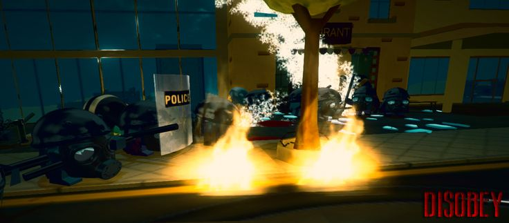 Disobey Art Concept indiedev, indiegame, gamedev, unity3d, pcgame