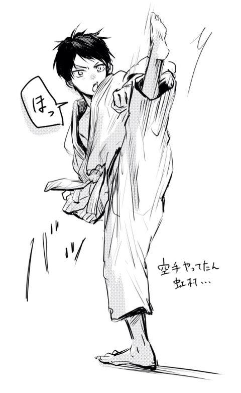 Kuroko no Basket (黒子のバスケ) - Shuuzou Nijimura (虹村 修造) // OMG Is that a Chibimura?