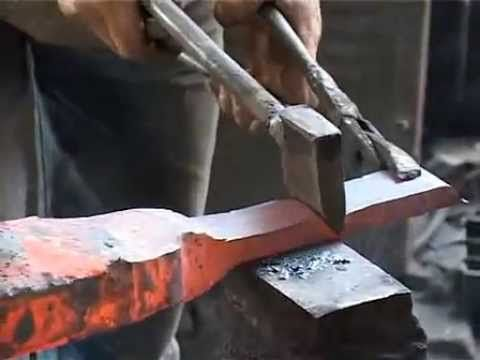 DIY Simple Wrench Knife [WalMiPictures] - YouTube