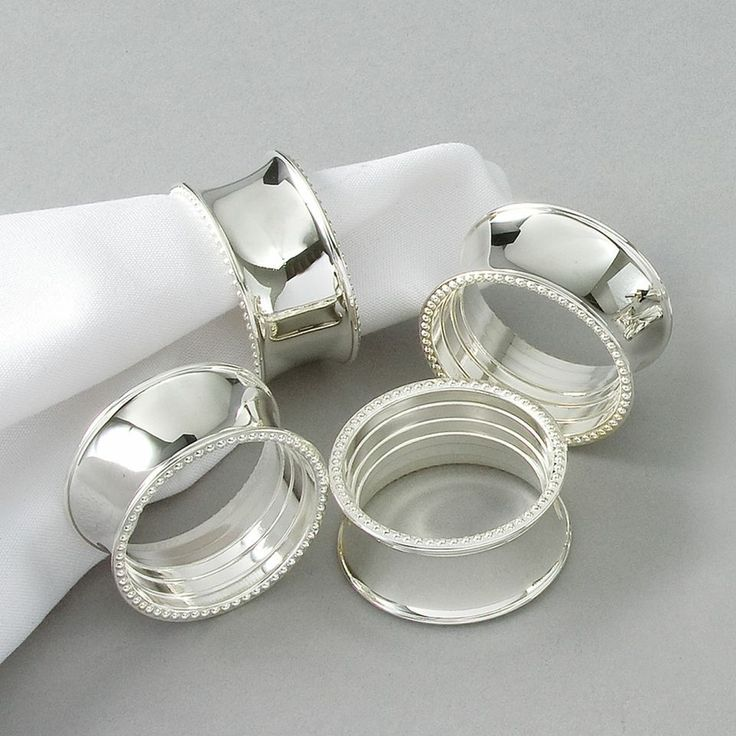 236 best China Napkin Rings Silver Copper Gold Pewter images