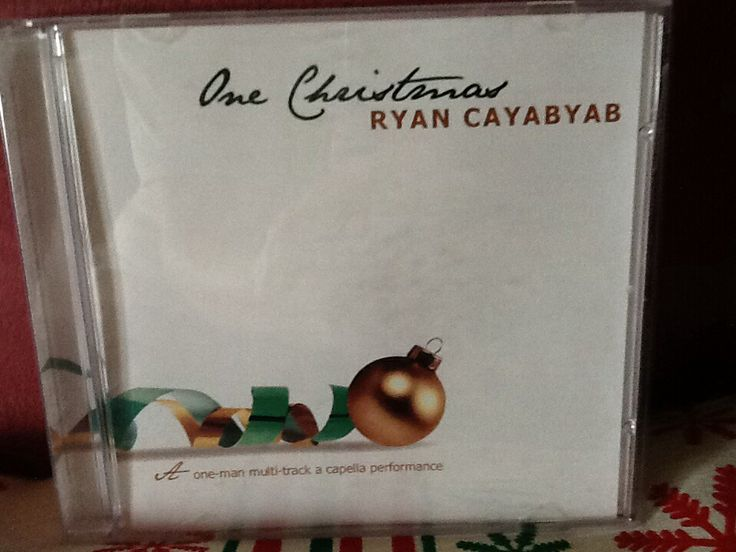 One Christmas is a beautiful Christmas album all in Filipino songs performed a one-man multi-track acapella by Ryan Cayabyab.