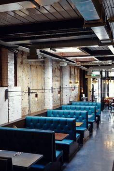 65 best Restaurant Booths images on Pinterest | Restaurant design ...