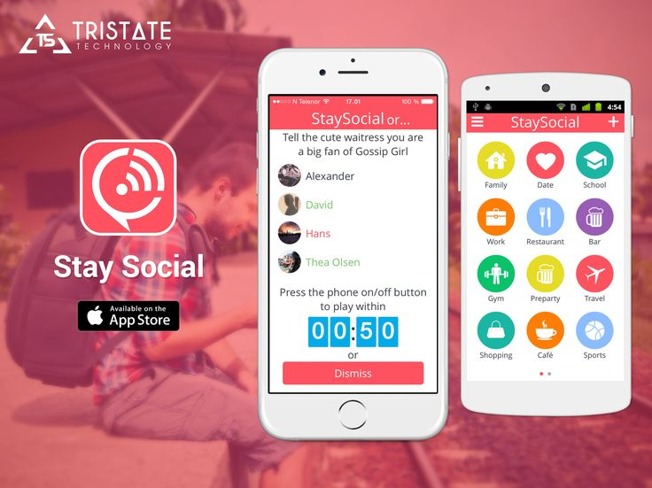 Tristate Technology developed  iPhone and Android Application.