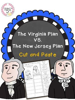 Looking+for+Constitutional+Convention+activities?+This+is+a+fun+and+engaging+way+to+review+The+Virginia+Plan+and+The+New+Jersey+Plan!+Students+will+read+a+statement+and+decide+if+it+is+a+fact+about+The+Virginia+Plan+or+New+Jersey+Plan,+then+glue+the+box+in+the+correct+column.