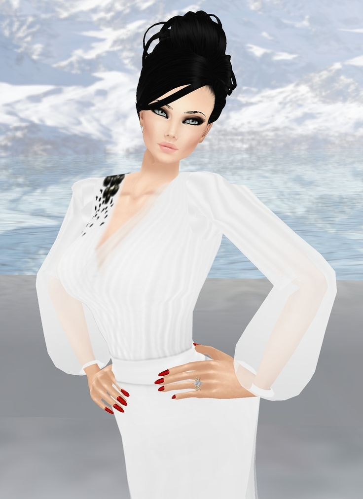 """Snow Queen"" Captured Inside IMVU - Join the Fun!"
