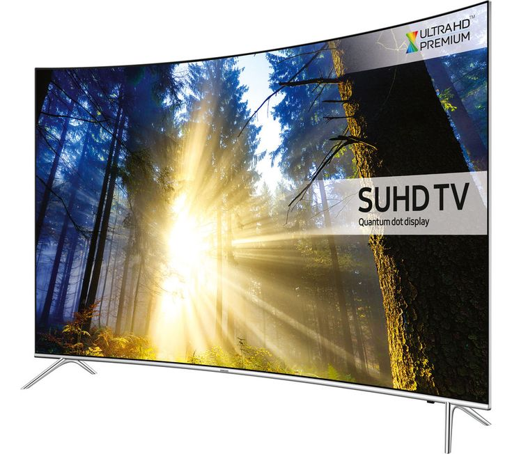 """£899 - HDR10 HDR1000 Works with Ps4 and Xbox One S BUY IT !! - SAMSUNG UE43KS7500 Smart 4k Ultra HD HDR 43"""" Curved LED TV"""