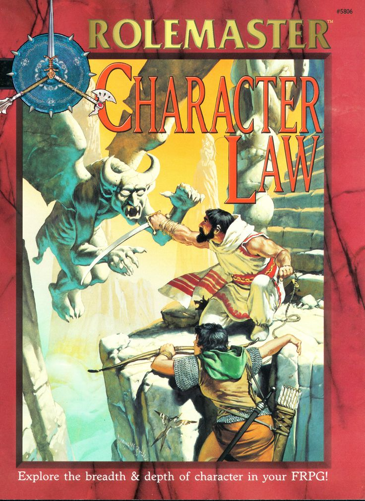 Rolemaster - Character Law