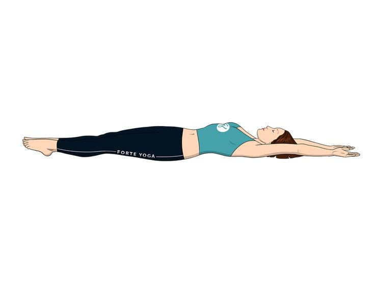 Pool Yoga Pose
